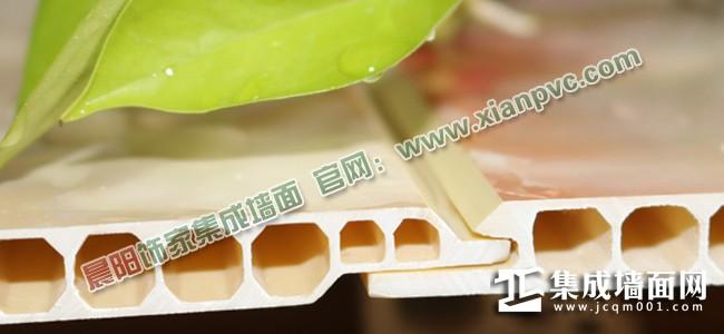 晨阳饰家微晶石集成墙面正面拼缝(V缝型)——细节展示