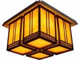 凯兰智能家居:495新中式木雕灯