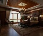 赛华卧室顶墙精装效果图