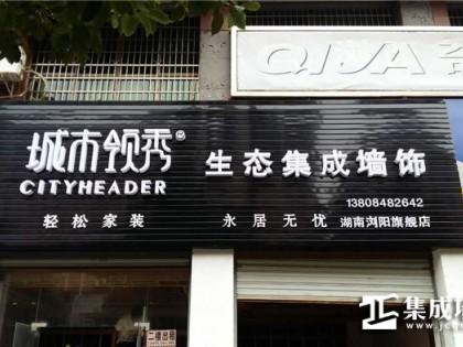 城市领秀集成墙面湖南浏阳专卖店