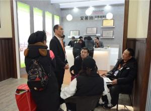 北京建博会:艾莱特无缝墙板刮起室内环保革命之风—展会现场 (12)