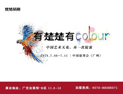 有楚楚有colour 楚楚邀您7月见证中国艺术天花再次绽放