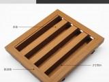 欧堡生态木塑木2寸百叶片木吊顶材料