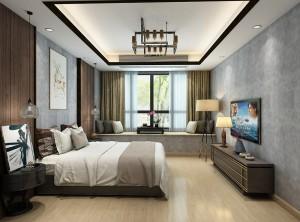 雅阁定制顶墙现代风格卧室装修效果图