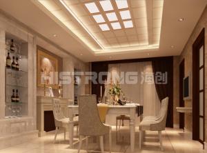 海创集成墙面5款客餐厅装修效果图