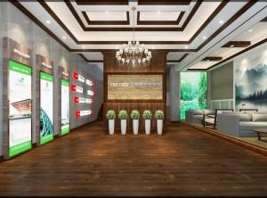 艾莱特集成墙面最新专卖店装修效果图案例