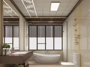 爱尔菲集成顶墙新中式与欧式风格装修案例