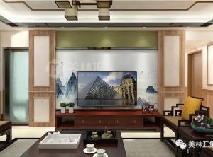 佛山星晖园155平方中式老房翻新,美林汇致力打造品质优雅之家