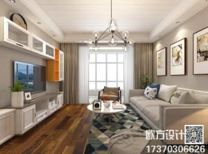 晒几款现代风格客厅装修效果图,集成墙面客厅装修案例