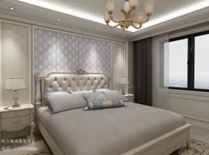 欧式风格集成墙板卧室装修效果图,欧式卧室装修案例