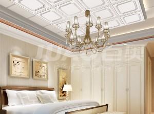 巨奥全铝顶墙卧室装修效果图,卧室顶墙装修案例