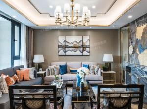 8款顶级中式风格客厅装修效果图,吉柏利顶墙集成效果图
