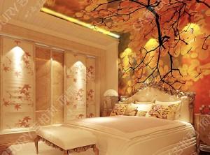 几款美式卧室墙面装修效果图,吉柏利美式卧室装修案例