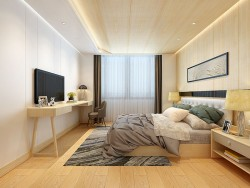 艾莱特墙面北欧现代卧室系列