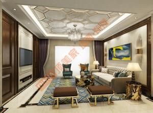 顶美家墙面背景墙客厅、餐厅装修实例赏析