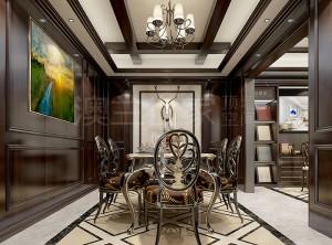 美式风格家庭装修实例,澳兰世家墙面美式风装修图