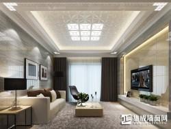 星雅图顶墙集成欧式风格-现代客厅