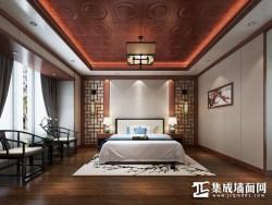 星雅图顶墙集成欧式风格-中式卧室