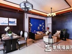 鼎美顶墙集成-中式客厅