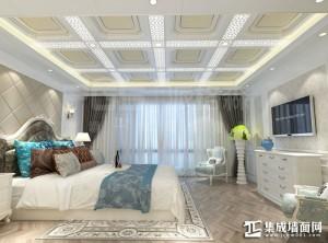 派格森顶墙一体卧室装修效果图赏析 (6)