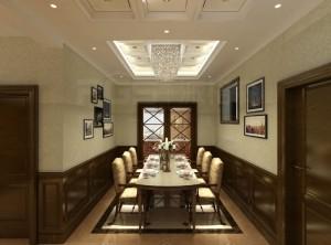 派格森顶墙一体餐厅装修效果图
