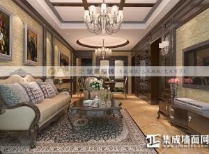 东方乐艺全屋整装客厅装修效果图