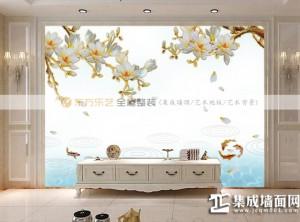 东方乐艺全屋整装背景墙设计效果图