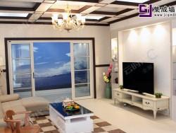 云时代全屋整装-现代客厅