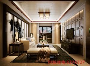四款风格各异的客厅吊顶装修效果图