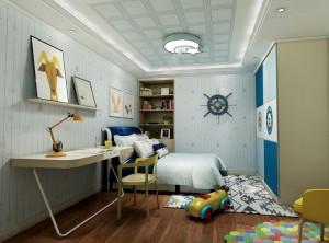 世纪豪门地中海卧室装修案例,地中海儿童房装修图