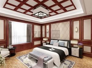 艾格木精装顶墙中式风格装修赏析,中式风格装修案例