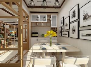 三款日式风格餐厅装修效果图 吉象日式餐厅装修
