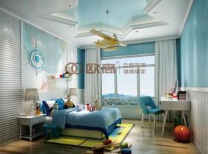 欧高集成家居卧室装修效果图,欧式卧室装修图