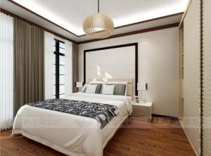 卧室日式风格装修案例,吉象日式装修效果图