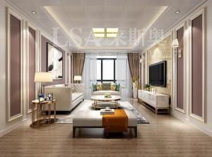 来斯奥顶墙最新客厅装修实景图赏析
