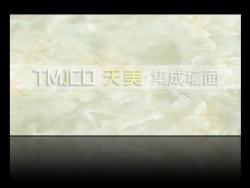 天美环保集成墙面-雪晶白玉350