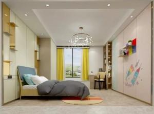 友邦吊顶墙面最新卧室背景墙装修图