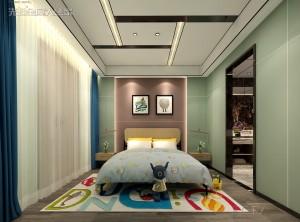 先超顶墙郑州样板间效果图,家居景观区装修图