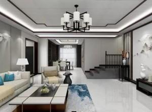 缔尚大师禅意留白,中式客餐厅美的至高境界