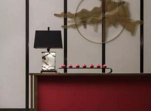 缔尚大师集成墙面新中式玄关,一种惊艳世界的美!