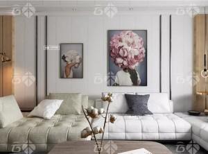 云木集成墙面各种风格的客厅卧室装修图赏析