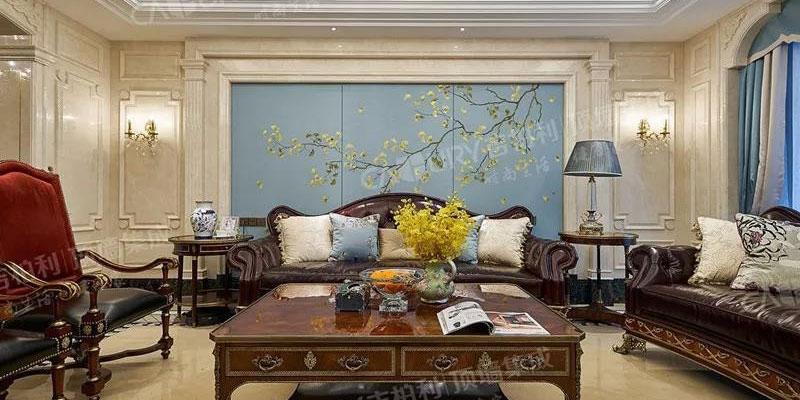 吉柏利顶墙集成客厅装修图,4款不同风格客厅效果图
