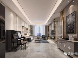 """艾格木精装墙顶现代+新中式风装修,依然想安然""""归巢"""""""