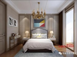 华夏杰墙顶整卧室墙面现代风装修图片,诠释家居艺术