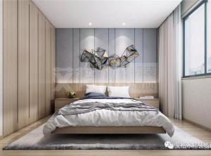 艾格木精装墙顶极简卧室美宅效果图,一种有格调的生活