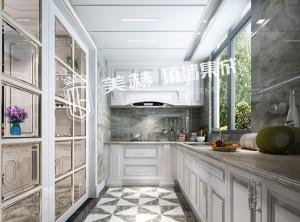 美赫顶墙本源系列厨房效果图,现代简约风厨房