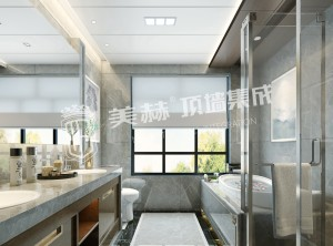 美赫顶墙集成本源系列卫生 间装修效果图