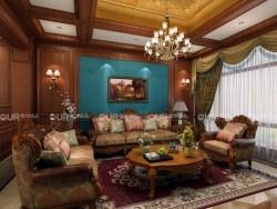 奥华墙品美式风格客厅系列