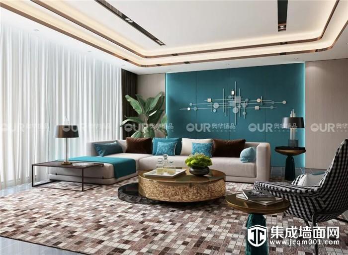 奥华专属定制客厅背景墙,你可还满意?