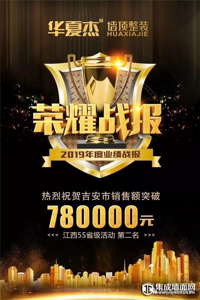 销售额突破423万!荣耀2019!华夏杰5s终端运营省级联动江西站 捷报连连!